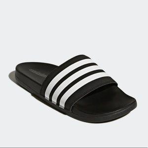 Adidas Adilette Comfort Slides Sandals 7 NWT